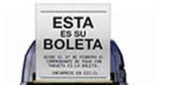 Comprobantes emitidos por transacciones pagadas con medios electrónicos