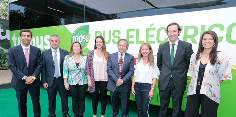 Lanzamiento Bus Eléctrico