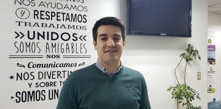 Bienvenido Hugo González, Gestor de Proyectos